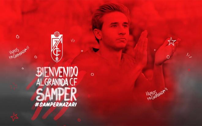 Sergi Samper jugar� en el Granada esta temporada