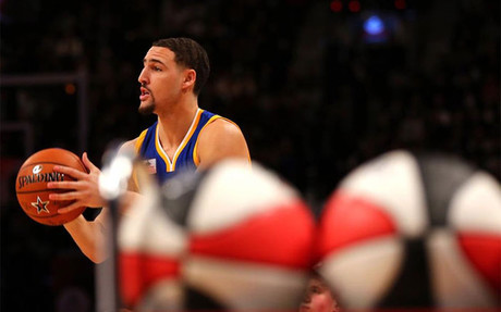 Thompson destrona a Curry como campe�n de triples del All Star
