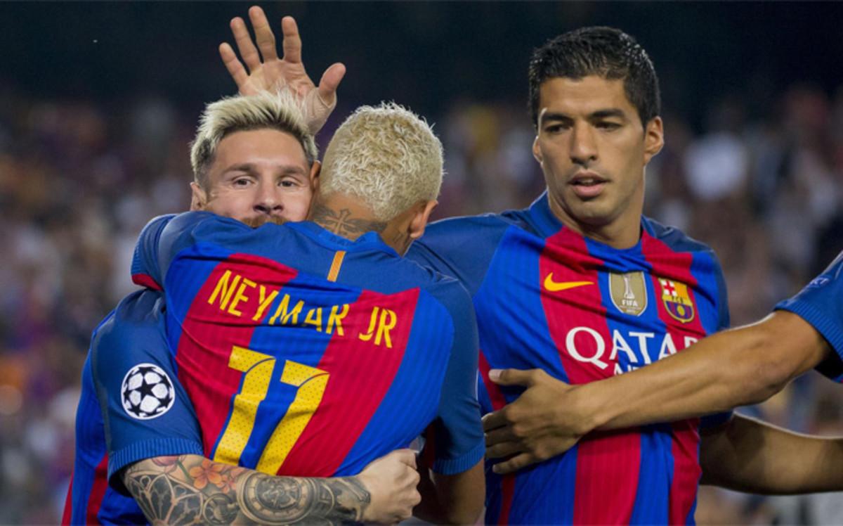 ¡El tridente del FC Barcelona vuelve contra el Manchester City!