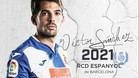 Víctor Sánchez seguirá en el Espanyol hasta 2021