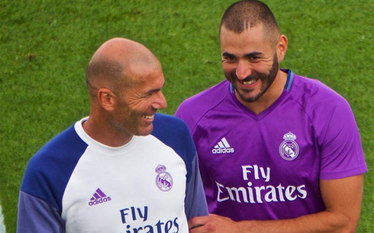 """Zidane: """"Tenemos que ir con cuidado con Benzema"""""""