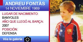 Andreu Fontàs, otro central \'made in\' Barça