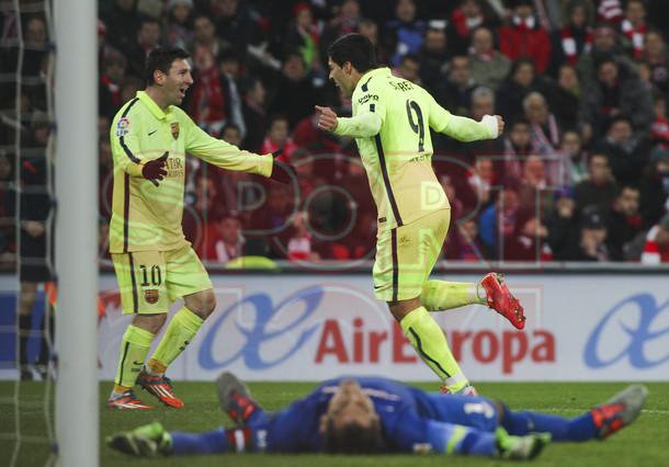 صور : مباراة أتليتيكو بلباو - برشلونة  2-5 ( 08-02-2015 ) 1423435619734