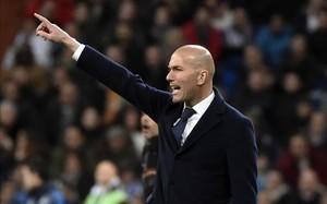 Zidane está muy molesto con sus jugadores