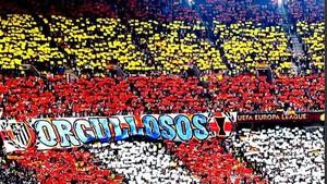 El Frente Atlético no quiere la final en el Calderón