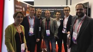 Latorre, junto a los creadores e impulsores de Satway Pro
