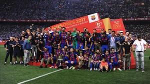 El FC Barcelona consiguió su 29ª Copa del Rey tras ganar al Alavés (3-1)