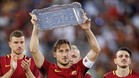 Totti puso fin a 25 años en la Roma, donde es un mito