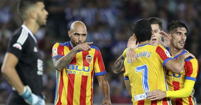 LALIGA   Real Sociedad-Valencia (2-3)
