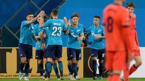 La Real Sociedad perdió con el Zenit en San Petersburgo (3-1)