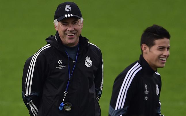 Ancelotti quiere llevarse a James y Benzema al Bayern