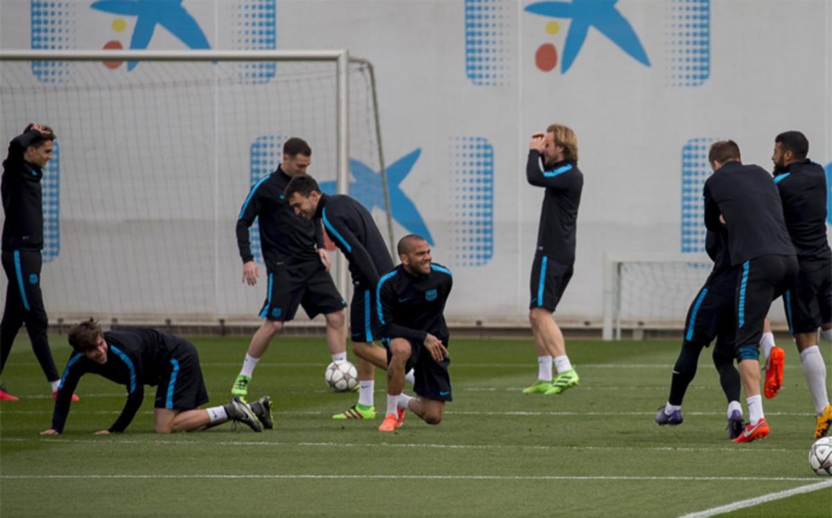 Luis Enrqiue prepara el duelo ante el Arsenal con toda la p�lvora