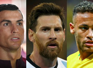 Cristiano Ronaldo, Leo Messi y Neymar Junior, finalistas al The Best FIFA