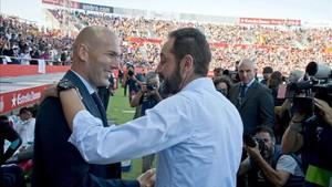 El Girona asombró al ganar al Madrid de Zidane