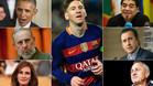 Leo Messi ha recibido elogios de todos los �mbitos de la sociedad