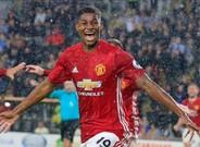 Rashford marc� el �nico gol del partido en el tiempo a�adido