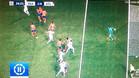 Ramos marc� en fuera de juego para abrir el marcador