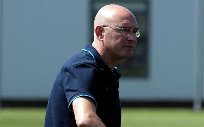 Xavi Llorens, entrenador del Bar�a Femenino de f�tbol