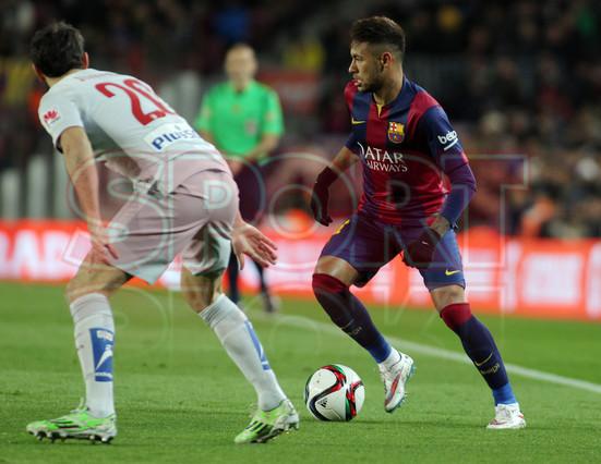 صور : مباراة برشلونة - أتليتيكو مدريد 1-0 ( 20-01-2015 )  1421883707344