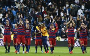 El Barça ha ganado en sus cuatro desplazamientos a Madrid, incluído el Bernabéu