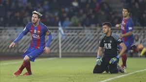 El Barça de Messi regresa a Anoeta en la ida de cuartos de Copa