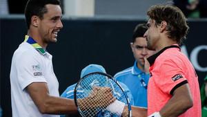 Bautista elimina a Ferrer en Melbourne