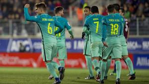 Las radios narraron con intensidad las cuatro dianas del FC Barcelona