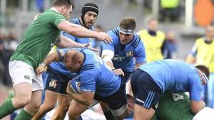 Italiano Ghiraldini ante Irlanda