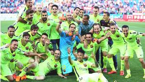 La última Liga del Barça
