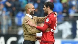 Pep Guardiola ya se llevó a Javi Martínez al Bayern