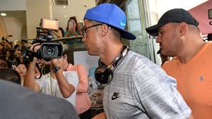 Cristiano Ronaldo durante su estancia en Singapur el pasado 21 de julio