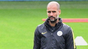 Pep Guardiola, mánager del Manchester City