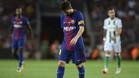 Los postes frustraron a Leo Messi