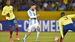 Messi llevó a su Argentina al Mudnial goleando
