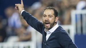 Pablo Machín, entrenador del Girona