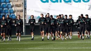 El Real Madrid prepara el partido ante el Eibar