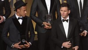 Neymar y Messi coincidirán en Londres dos meses después