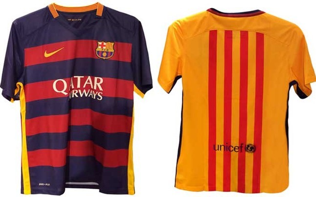 Barcelona to reveal new home and away kits for 2015 2016 - New home barcelona ...