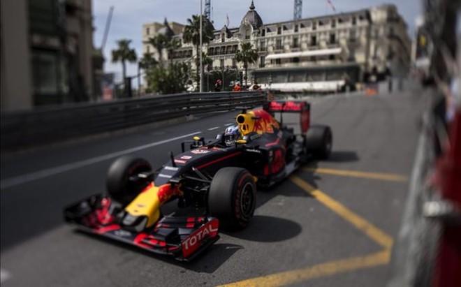 Daniel Ricciardo en Monaco
