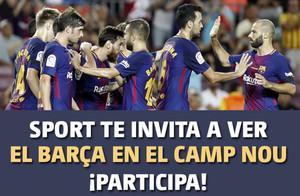 Foto sorteo entradas Barça 2017-2018