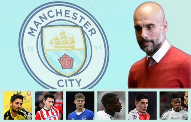 Guardiola tiene fijados algunos nombres para su primer proyecto en el Manchester City