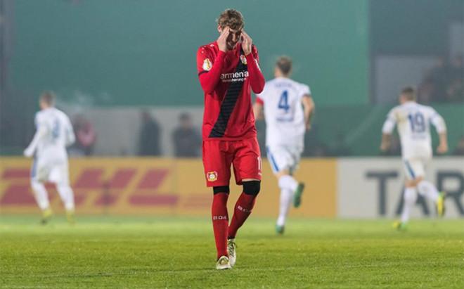El Leverkusen sufri� una eliminaci�n totalmente inesperada