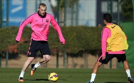 El cable de Messi y Mathieu