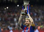 Messi levant� la Supercopa de Espa�a