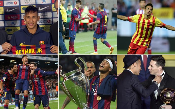 Neymar: 24 a�os, 24 momentos