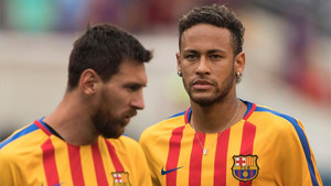 Neymar y Messi, en una imagen de archivo