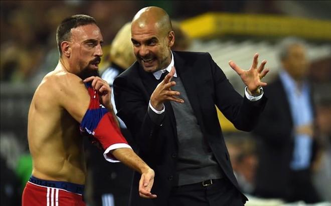 Rib�ry dijo que Guardiola no tiene mano izquierda para tratar a los jugadores