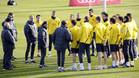 Guardiola ha explicado a sus jugadores cuál es la situación real