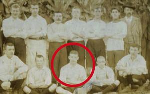 George Girvan, en su etapa en el Barça