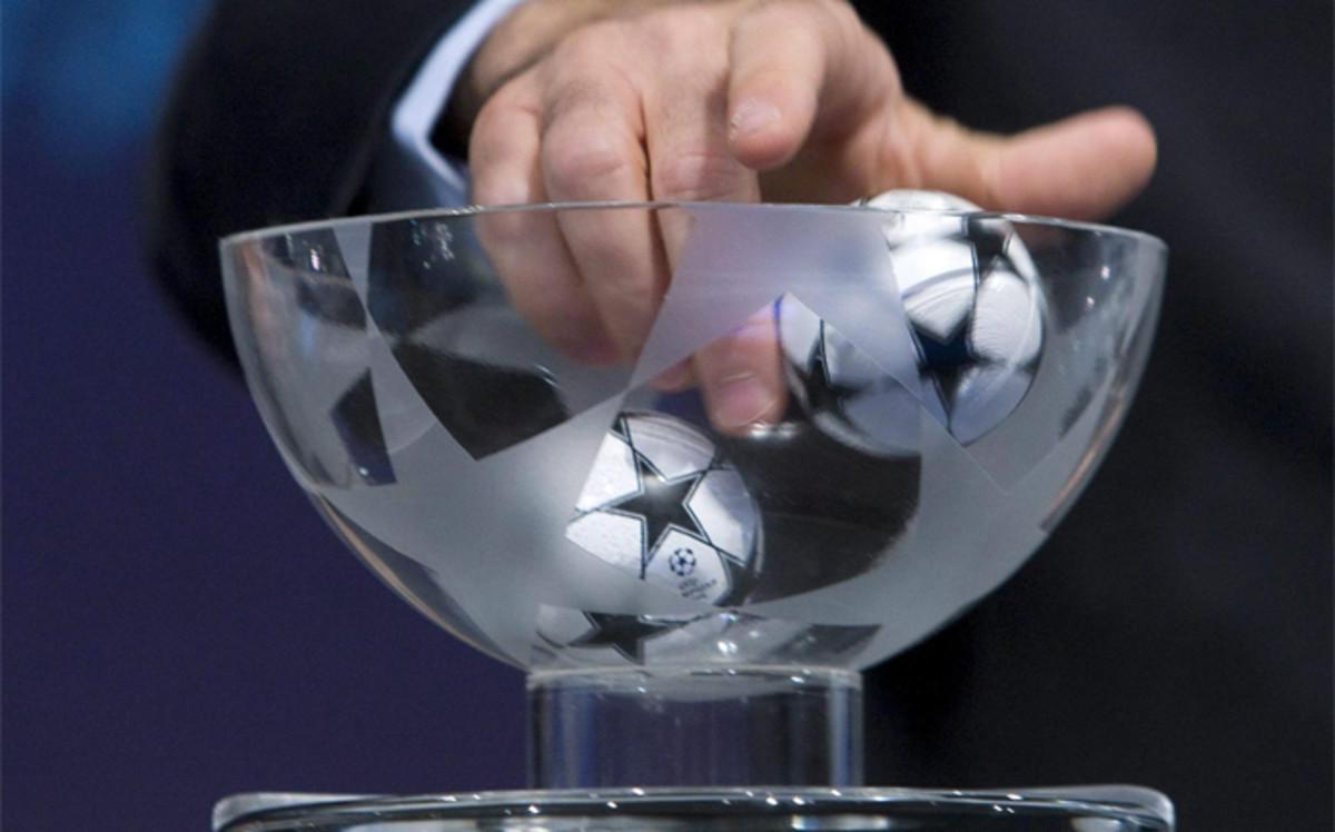 Resultado de imagen de sorteo champions